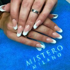 Mistero Milano Professional French Set White Clear And Beige Acrylic Polymer Pro