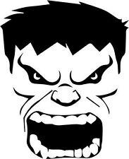 Hulk Face Vinyl Decal Sticker