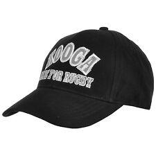 Kooga Rugby Mens Black Cap BNWT Osfa Adjustable Brand New Baseball Hat Scrum l