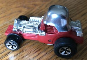 1973 Hot Wheels Sizzlers Fat Daddy Red Baron Runs Fast! Super nice!