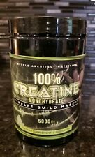 Muscle Architect Nutrition 100% Creatine Monohydrate - Helps Build Muscle 5000mg