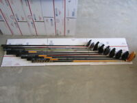 Lot of 9 Golf Club Drivers / Clubs Intech, Super 420, Gator, Wilson As-Is, READ