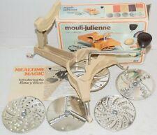 Mouli Julienne 445 with 5 Discs Grater Slicer Shredder