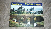 AUSTRALIAN OLD POSTCARD VIEW FOLDER. FROM THE 1970s SOUTHERN TASMANIA