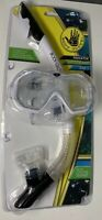 Body Glove Predator Purge Mask & Snorkel Set-Dive Swim Goggles Large-White/Black