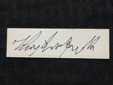 Roy Campanella Brooklyn Dodgers Baseball Autograph Lot#A106