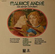 """JEAN-FRANCOIS PAILLARD - MAURICE ANDRE MIT SEINEN SCHÜLERN   12""""  LP (P22)"""