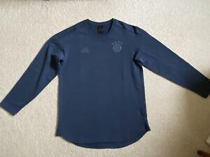 adidas FC Bayern München Season Sweatshirt - Saison 2017/18 - Gr. M