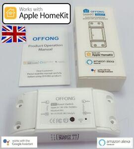 OFFONG Smart Switch Working with Apple Homekit, Siri, Alexa, Google - UK STOCK