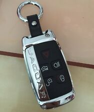 Jaguar key cover case remote FOB XF XJ XK XE F-TYPE F Pace zinc alloy leather