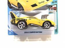 Hot Wheels Dodge Charger Daytona Tooned w/Real Riders SUPER CUSTOM TREASURE HUNT