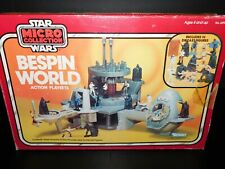 VTG~Kenner~Star~Wars~1977~1982~Micro~Collection~Bespin~World~diecast~Boba~Fett~~