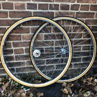 VtG  Schwinn 27x1 1/4 Wheel Set Steel Freewheel W Tubes & Tires Chrome