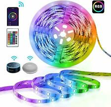 Smart LED Lights Strip Compatible with Alexa,16 Million Color Changing