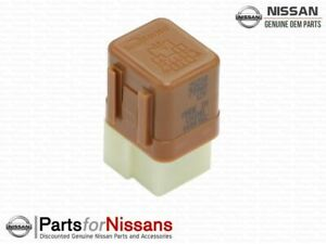 Genuine Nissan Relay (Brown) 25230-7996A