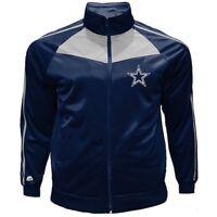 Dallas Cowboys Men's Big & Tall Tricot Track Jacket Size 3XL Navy White New WT