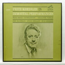 FRITZ KREISLER in immortal performances RCA 2xLPs box NM