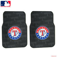 Brand New MLB Texas Rangers Car Truck 2 Front Rubber Floor Mats Northwest