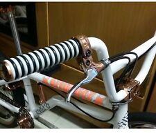NEW Bizhouse White GYM Grips BMX Flatland Freestyle Fixie