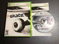 Skate 1 (Microsoft Xbox 360, 2007) Complete w/ Manual ~ Skateboard Skating Game