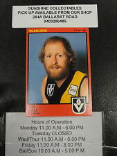 1982 SCANLENS CARD NO.21 JIM JESS RICHMOND GOOD