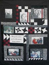 """Your Photos Printed On Quilt Squares  8.5"""" x 11"""" Square"""