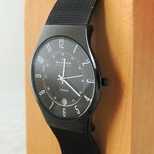 MENS SKAGEN TITANIUM 233XLTMB WATCH WITH NEW BATTERY FITTED