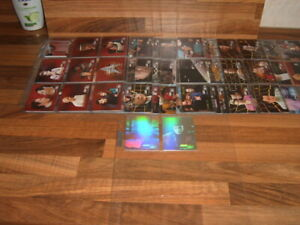 Skybox 1997 set Star Trek TNG Episode Collection  Season 6 + chase Trading Cards