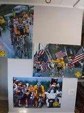 Lot of 3 Trek Lance Armstrong Posters Us Postal Team Time Trial Tour de France