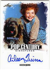 "2015 LEAF POP CENTURY AUTO: AILEEN QUINN -AUTOGRAPH ORIGINAL""ANNIE"" WIZARD OF OZ"