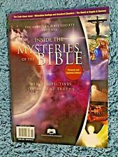 "Book ""Inside the Mysteries of the Bible"" Paperback 8x11 Illustrated Healing ange"