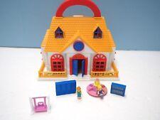 Blue Box Toys Miniature Doll School House,  Polly Pocket Dolls