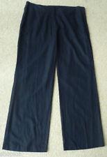 Marks and Spencer Linen Regular 28L Trousers for Women