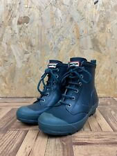 HUNTER WELLIES, Kids Size 13, Navy, Above Ankle, Lace Up,*EX COND*