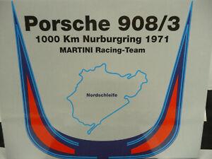 NSR 1:32 SET10 Porsche 908/3 1000km Nurburgring '71 Martini suit Scalex/Carrera