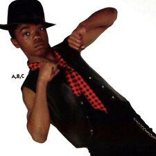 NWT Snap front Black Pleather Vest Men's small Dance costume Item