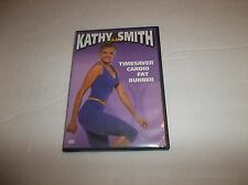 Kathy Smith Timesaver Cardio Fat Burner DVD Physical Fitness Exercise 2 Workouts