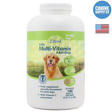 8 in 1 Excel Adult Multi-Vitamin Chew Tabs For Dogs (w/ Ester C), 180-Count