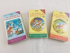 The Animals of Farthing Wood Video VHS Collection BBC Volume 1, 3 and 4
