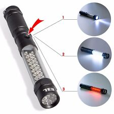 3in1 Multi-function LED Flashlight Work Light with Magnetic Base Portable