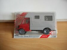 Poliguri Guri Car Cristal Mercedes 207 D Camper in Red/Grey in Box
