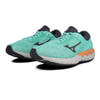 Mizuno Womens Wave Skyrise Running Shoes Trainers Sneakers - Green Sports
