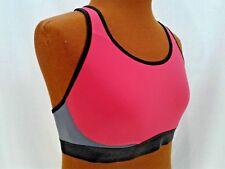 Sports Bra XL Champion Performance Pink Black Gray Moisture Wicking Quick Dry