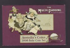 2008 Baby Proof Set Australia Birthday Gift Year The Magic Pudding & Medallion *