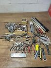 K295- Vintage Jeweler's Tools Lot - Ring Sizers, Pliers, Etc