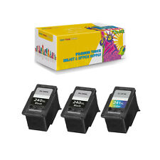 2 x PG-240XL + CL-241XL Compatible Inkjet for Canon PIXMA MG2120 PIXMA MG2220