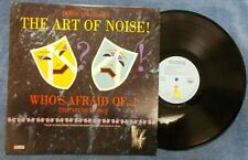 Art Of Noise LP Island 90179 E+ Condition Who's Afraid Of The Art Of Noise
