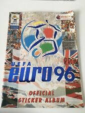 Official merlin Euro 96 European Championship Football Sticker Album