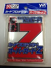 Yanoman Hard Outer Card Sleeves 70X95mm X50 pieces