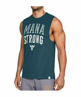 Under Armour Mens UA x Project Rock Mana Strong Sleeveless Tank Top Shirt  L  XL
